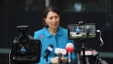 NSW Premier Gladys Berejiklian says a record number of COVID-19 tests have been conducted in the state.
