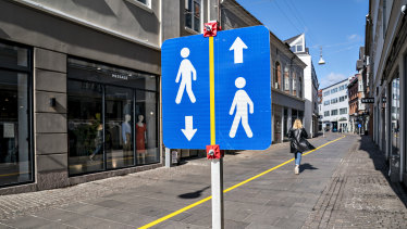 Denmark has eased its social distancing restrictions.