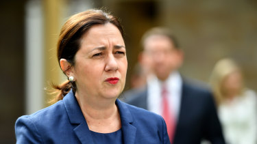 Queensland Premier Annastacia Palaszczuk says the state's COVID-19 recovery has prompted the government to put its Olympics bid on hold.