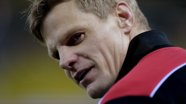 Nick Riewoldt is alarmed by concussion rates in the AFL.
