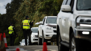 New laws passed last week boosted the maximum penalty for breaching border directions to six months in jail.