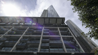 About 20 per cent of Freshwater Place is rented out short-term.