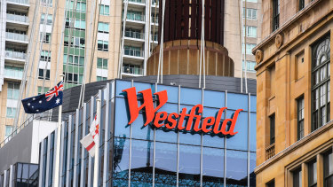 Westfield tower at 100 Market Street, Sydney