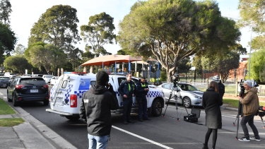 The man's body was found in a Cranbourne carpark.