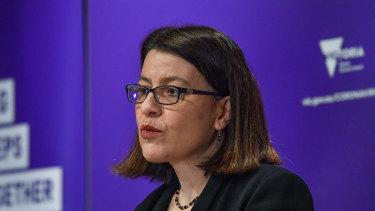 Victorian Health Minister Jenny Mikakos.