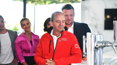 Melbourne Grand Prix chief Andrew Westacott sat on the tourism industry taskforce. It warned the state government that small and major events were in peril unless certainty arrived within weeks.