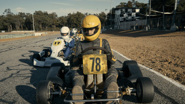 Go! stars William Lodder as 16-year-old Jack, who's just arrived in a new town where go-kart racing occupies a lot of the locals' time.