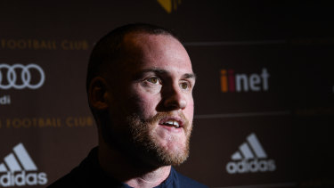 Stuart Dew says he won't be asking Jarryd Roughead to come up to the Gold Coast.
