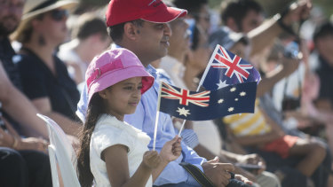 Becoming Australian citizens is a big step for many.