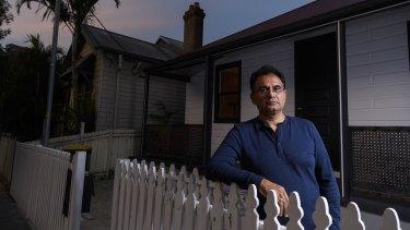 Migration agent and  president of Little India Harris Park Business Association Sanjay Deshwal.