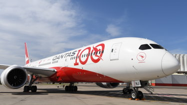 Qantas started the trial on a 787 Dreamliner repatriation flight from Germany that landed in Darwin on Friday morning.