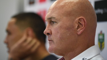 St George Illawarra coach Paul McGregor is feeling the heat.