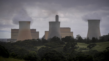 EnergyAustralia's Yallourn coal power station in Victoria is being impacted by lower wholesale power prices.