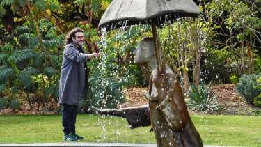 Adam Ferrier at St Kilda Botanical Gardens