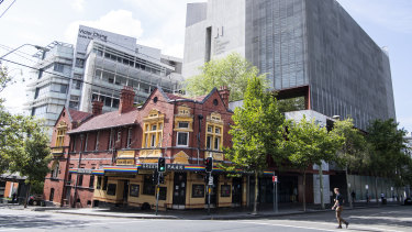 Last drinks: Darlinghurst's iconic Green Park Hotel is closing its doors.