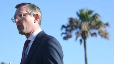 NSW Treasurer Dominic Perrottet will hand down the state budget next month.