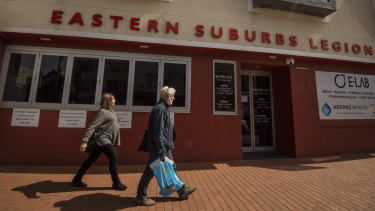 Five cases have now been linked to the Eastern Suburbs Legion Club in Waverley.