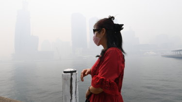 Sydney barely recognisable under heavy smoke ... the health impacts are real.