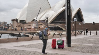 Sydney Opera House has fallen quiet.