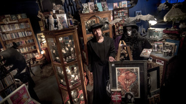 Haunted Bookshop owner Drew Sinton is in a dispute with his Buddhist landlord.