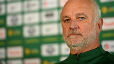 Socceroos coach Graham Arnold.