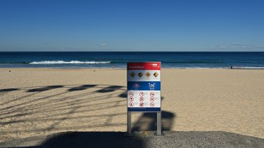 Beaches in the Waverley Council area will remain open.
