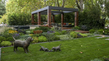 A garden for the modern, growing family created by Jason Hodges, Candeo Design and Semken Landscaping.