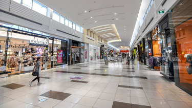 Empty stores in empty malls: Retailers who hardly made profits before the pandemic will struggle to survive the crisis.