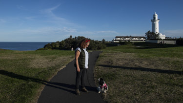 Ericka van Aalst, a spokeswoman for the Save Christison Park Action Group, is concerned about the impact of sporting upgrades on the heritage of the clifftop park and walk.