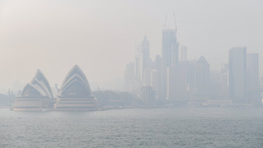 The Prime Minister urged calm as smoke blanketed Sydney.