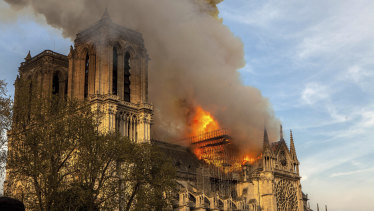 Notre-Dame cathedral is undergoing an extensive rebuild following the blaze.