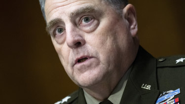 Increased terror threats: General Mark Milley.