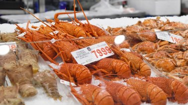 Lobster prices have dropped as the impact of the coronavirus hits tourism.