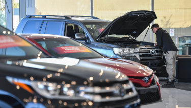 Online classifieds group Carsales says there are signs of an improvement in vehicle sales.