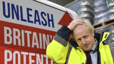 Prime Minister Boris Johnson on the campaign trail ahead of Thursdays election.