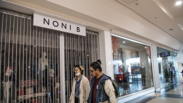 The fashion retailer is planning to permanently close up to 500 of its 1300-plus stores across Australia.