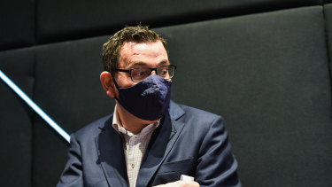 Victrorian Premier Daniel Andrews has defended the decision to send home all St Basil's staff and management at the height of the outbreak.