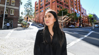Wendy San studied at UTS and now works at Deloitte after taking part in an outreach program for school students living in disadvantaged areas.