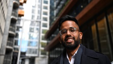"""26 year-old Murali Ramesh: """"I'm open to trying new things and seeing how they work."""""""