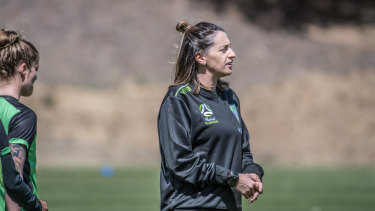 Heather Garriock says female coaches often don't get the respect they deserve.