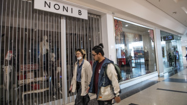 Noni B owner Mosaic Brands has reopened 129 stores that were closed on August 20 over a rent dispute with landlord Scentre Group.