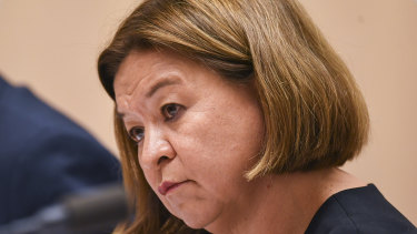 Former ABC managing director Michelle Guthrie was axed by the board on Monday.
