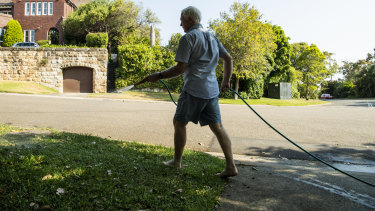 Sydneysiders are facing water restrictions until at least 2024.