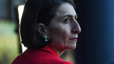 Premier Gladys Berejiklian wants students to resume face-to-face learning, but not all at the same time.