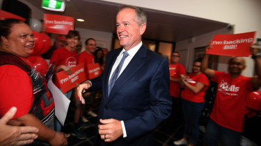 Labor leader Bill Shorten. Labor has announced an overhaul of the Jobactive Program.