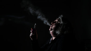 Australian Donna Darvill started vaping to help her quit smoking. On Saturday she said it has changed her life.