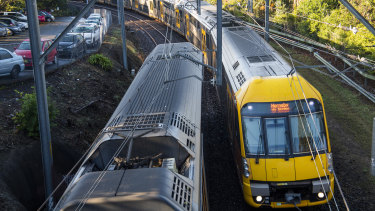 Sydney Trains corporate functions look set to be folded into the state's main transport agency.