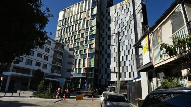 The Scape student accommodation development at The Block has been re-engineered for quarantine.