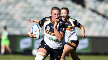 Brumbies star No. 8 Tayla Stanford was injured after just 15 minutes.