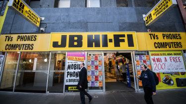 Electronics retailer JB Hi-Fi is one of Citi's main picks to benefit from a spending surge.